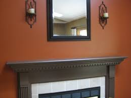 Pumpkin Spice Paint Living Room I Painted My Loft A Burnt Orange Color Like This I Was A Little