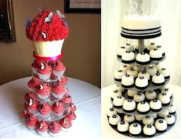 Cupcake Ideas For Wedding Reception Inexpensive Wedding Cakes