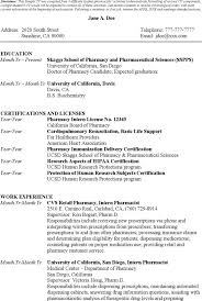 Cv For Pharmacist Job Filename Heegan Times