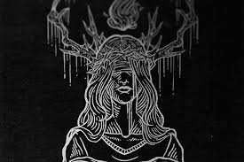 Black And White Illustrations By Jan Pimping Dark Providence Bleaq