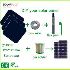 online buy whole 75w solar panel from 75w solar panel solarparts 75w diy your flexible solar panel kits 125 125mm sunpower solar cell use