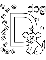 Small Picture Letters and Alphabet coloring pages Free Coloring Pages
