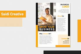 Business Flyer Template Free Download On Word File Saidi