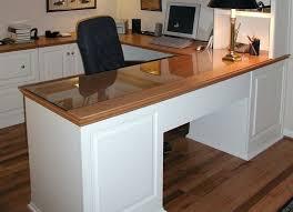 l desks for home office. Fine Office Custom U Shaped Desk For Home Office Interiors Within L Designs 7 Throughout Desks
