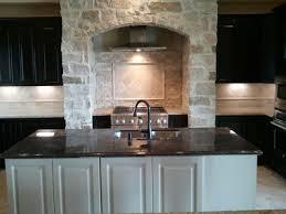 over stove lighting. Kinsmen Homes Custom Built Home Kitchen With Stone Arch Over Range,kitchen Island Sink Stove Lighting N