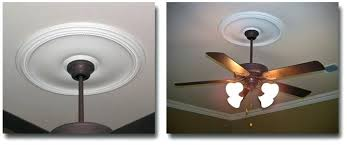ceiling fan medallion installation amazing