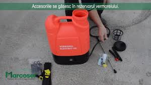 Prezentare Si Punere In Functiune Vermorel Electric Pompa Stropit Marcoser
