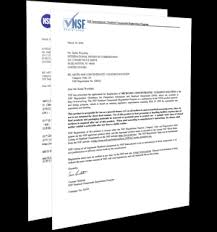 Nsf Certification Letters International Products Corp