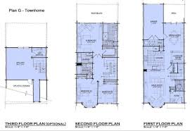 Baby Nursery Small Three Story House Plans Small Three Story Three Story Floor Plans