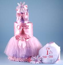 Baby Girl First Birthday Cake Lulalisacom