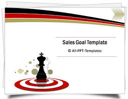 Sales Ppt Template Powerpoint Sales Goals Template
