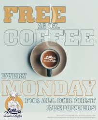 Being in denver, lamar's donuts and coffee in 80210 serves many nearby neighborhoods including places like cherry creek, cole, and west colfax. First Responders Get Free Coffee At Lamar S Donuts Every Monday Mile High On The Cheap