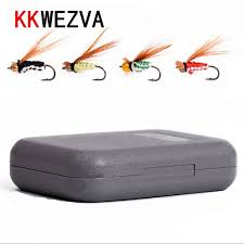 KKWEZVA <b>40pcs Fly fishing</b> Lure Hooks Butterfly Insects Style ...