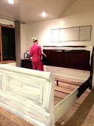Rustic White Bedroom Set Antique Distressed Bedroom Furniture ...