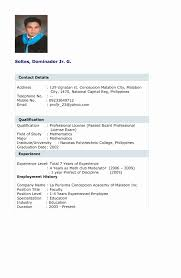 Sample Resume Accounting Graduates Philippines New Sample Resume For