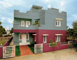 Asian Paints Colour Shades For Exterior Walls Video And Photos - Exterior walls
