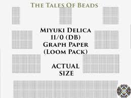 Peyote Bead Graph Paper Www Tollebild Com