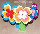 Как сделать цветы из цветной бумаги своими