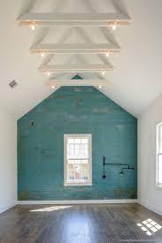 Farmhouse Wall Treatment - Weathered White Wood