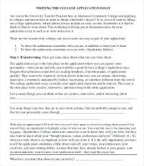 Bad College Application Essay Examples Ideas Of Example Cool