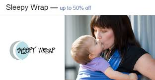 SleepyWrap #BabyCarriers - 50% off   Zulily Deals #babywearing