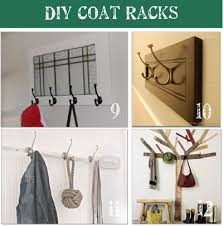 How To Build A Coat Rack Shelf Impressive Coat Rack Ideas Contemporary 32 DIY Tip Junkie Regarding 32 32