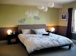 traditional bedroom ideas. Exciting Zen Room Decor In Traditional Bedroom Design Ideas With Wall Decal And Picture Also Two Tone Color Dark Curtain Plus Small Bedside