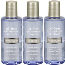 details about 3 pack neutrogena oil free eye makeup remover 5 5 fl oz 162 ml each