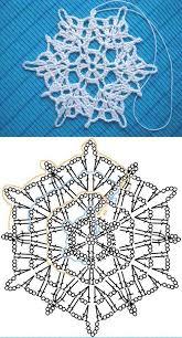 Crochet Snowflake Pattern Impressive Wonderful DIY Crochet Snowflakes With Pattern