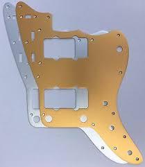 jazzmaster anodised aluminium pickguard
