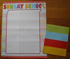 Sunday School Sticker Charts Petersham Bible Book Tract Depot Sunday School Attendance