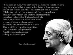 Krishnamurti Quotes New J Krishnamurti A Star In The EastPart II