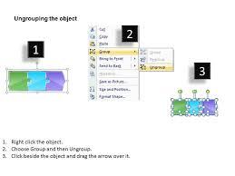 Multicolor Puzzle Piece Diagram 3 Stages Online Flow Chart