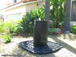 backyard water fountain waterfall 1 outdoor pump kits garden fountains ideas how to clean