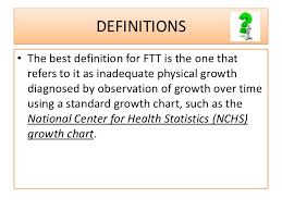 Define Growth Chart Approach To A Child With Failure To Thrive