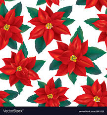 Poinsettia Pattern Cool Decorating Design