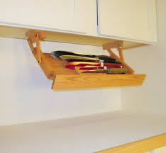 Image is loading Under-Cabinet-Pull-Down-Knife-Rack-by-Ultimate-
