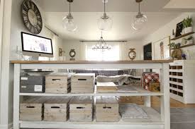 Industrial Kitchen Island Industrial Kitchen Island With Storage From Crates Pallets