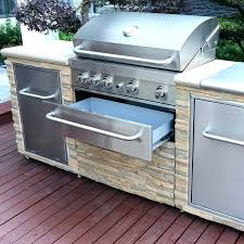 outdoor bbq grill island plans stack stone cabinets