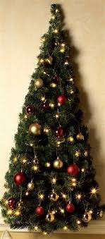 Hot Image Of Accessories For Christmas Design And Decoration Using Christmas Trees That Hang On The Wall