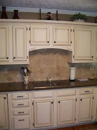 Cream Colored Cabinets With Brown Glaze   Google Search Pictures Gallery