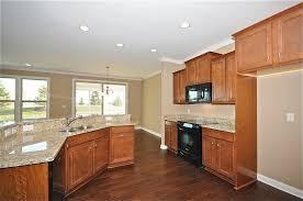 Dark Hard Wood Floors In Kitchen Great Home Design - Open floor plan kitchen