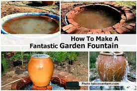 how to make a garden fountain. Delighful How Makegardenfountaintallcloverfarmcom With How To Make A Garden Fountain U