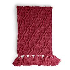 Caron Crochet Cables Blanket Pattern Yarnspirations