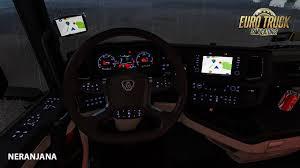 Ets Off Light Ets 2 Mod Scania S Dashboard Computer 1 3 Blue Green Red Ets2 V1 35
