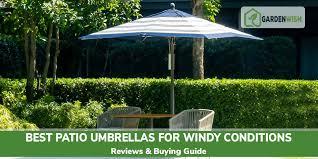 top 10 best patio umbrellas for windy