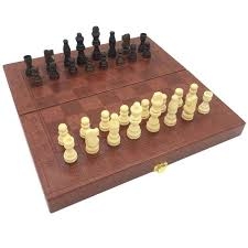 checkers and chess set backgammon 3 in 1 leather surface wooden box pieces board size cm checkers and chess set wooden