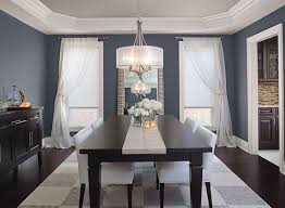blue dining room. Modren Dining Potential Whole House Neutral 861 Shale Is On This Ceiling Blue Dining Room  Ideas  Glamorous GrayBlue Paint Color Schemes Throughout Pinterest