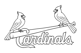 Download clip black and white stock St louis cardinals logo png ...