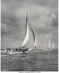 A. Aubrey Bodine (American, 1906-1970). Skipjacks and Schooners, | Lot  #73519 | Heritage Auctions